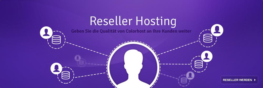 Reseller Webhosting von Colorhost